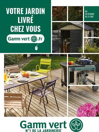 Gamm vert catalogue publicitaire (valable jusqu'au 31-05)