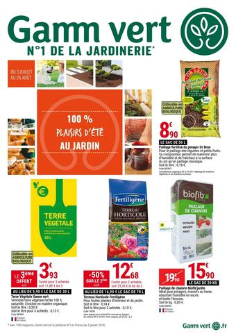 Gamm vert catalogue publicitaire (valable jusqu'au 25-08)