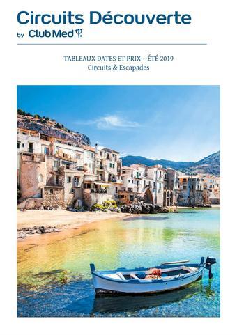 Club Med catalogue publicitaire (valable jusqu'au 30-11)