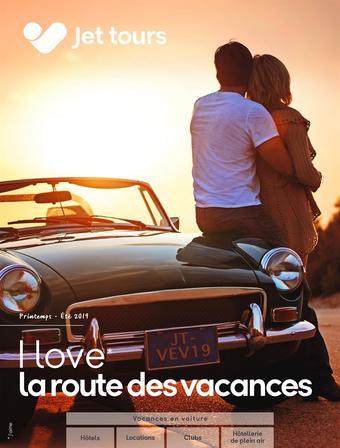 Jet Tours catalogue publicitaire (valable jusqu'au 31-08)