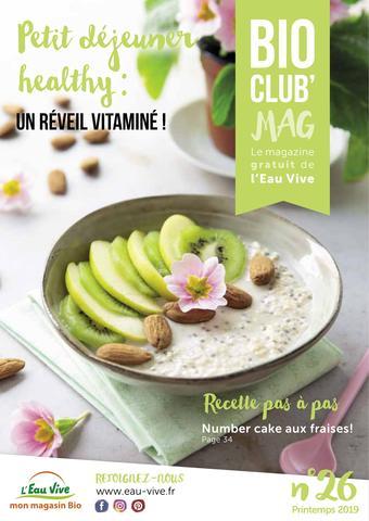 L'Eau Vive catalogue publicitaire (valable jusqu'au 31-05)