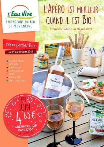 L'Eau Vive catalogue publicitaire (valable jusqu'au 30-06)
