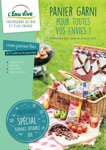 L'Eau Vive catalogue publicitaire (valable jusqu'au 25-08)