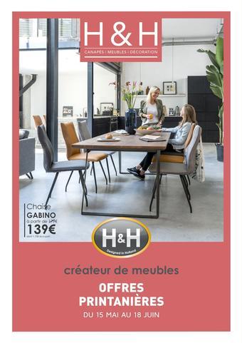 H&H catalogue publicitaire (valable jusqu'au 18-06)