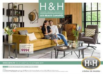 H&H catalogue publicitaire (valable jusqu'au 15-10)