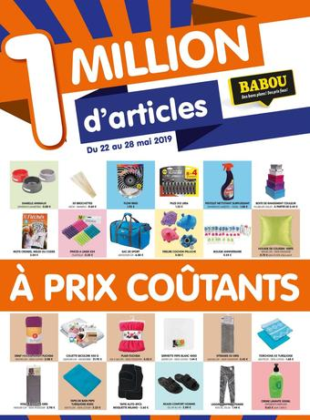 Babou catalogue publicitaire (valable jusqu'au 28-05)