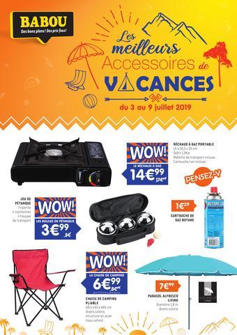 Babou catalogue publicitaire (valable jusqu'au 23-07)