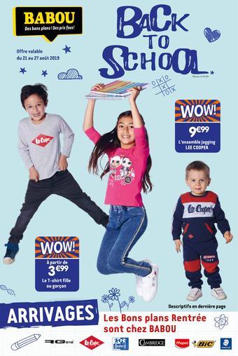 Babou catalogue publicitaire (valable jusqu'au 27-08)