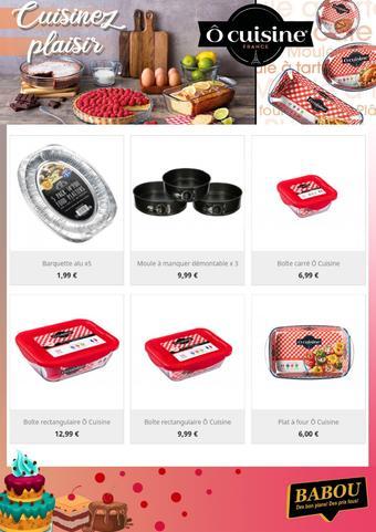 Babou catalogue publicitaire (valable jusqu'au 21-09)