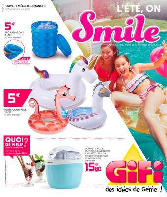 Gifi catalogue publicitaire (valable jusqu'au 19-06)
