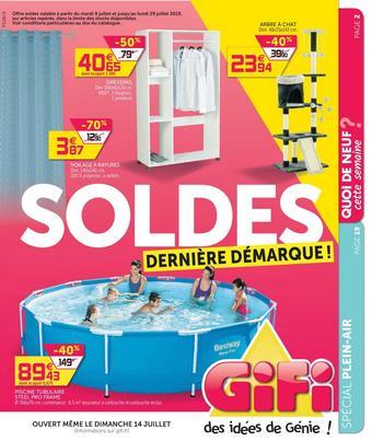 Gifi catalogue publicitaire (valable jusqu'au 29-07)