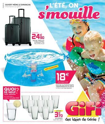 Gifi catalogue publicitaire (valable jusqu'au 24-07)
