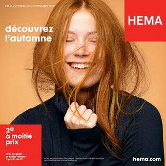 HEMA catalogue publicitaire (valable jusqu'au 05-11)