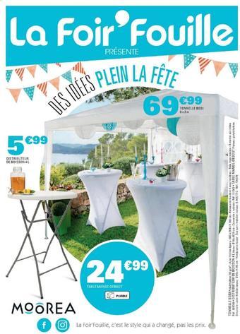 La Foir'Fouille catalogue publicitaire (valable jusqu'au 08-06)
