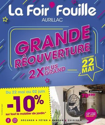 La Foir'Fouille catalogue publicitaire (valable jusqu'au 02-06)