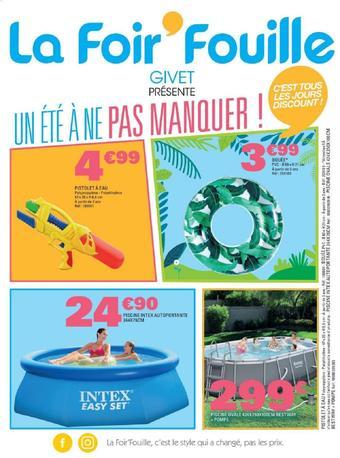 La Foir'Fouille catalogue publicitaire (valable jusqu'au 09-06)