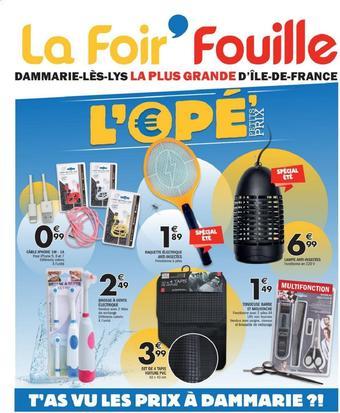 La Foir'Fouille catalogue publicitaire (valable jusqu'au 19-06)