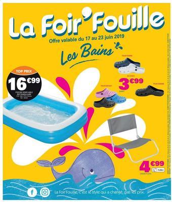 La Foir'Fouille catalogue publicitaire (valable jusqu'au 23-06)