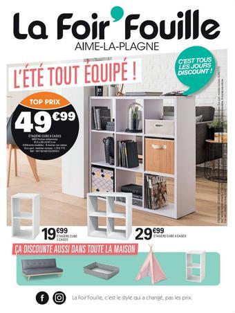 La Foir'Fouille catalogue publicitaire (valable jusqu'au 06-08)