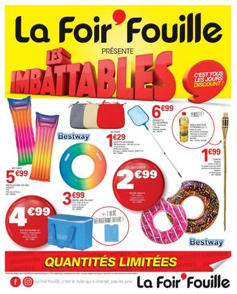 La Foir'Fouille catalogue publicitaire (valable jusqu'au 27-07)