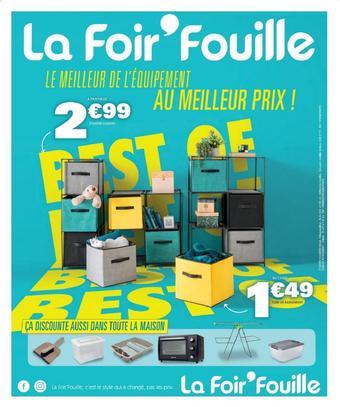 La Foir'Fouille catalogue publicitaire (valable jusqu'au 25-08)