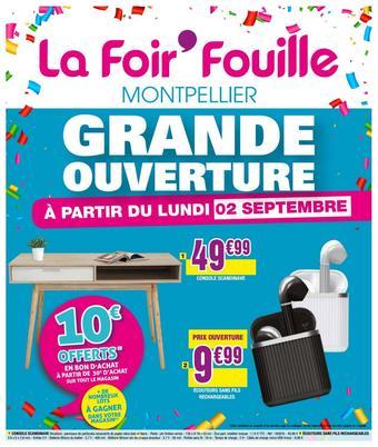 La Foir'Fouille catalogue publicitaire (valable jusqu'au 20-10)