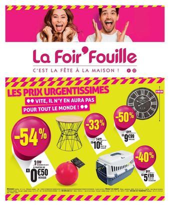 La Foir'Fouille catalogue publicitaire (valable jusqu'au 22-09)