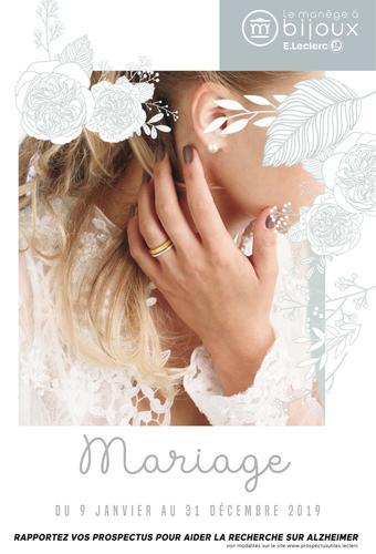 Le manège à bijoux catalogue publicitaire (valable jusqu'au 31-12)