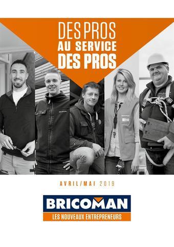 Bricoman catalogue publicitaire (valable jusqu'au 31-05)