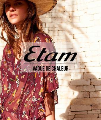 Etam catalogue publicitaire (valable jusqu'au 30-08)