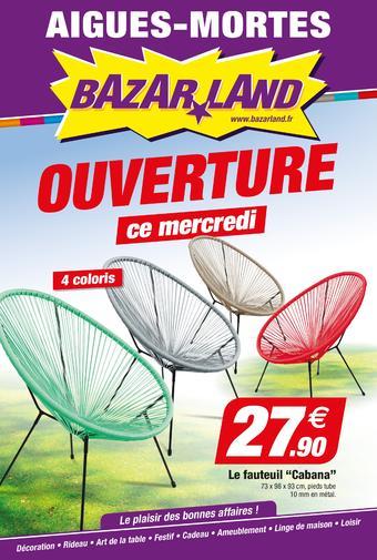 Bazarland catalogue publicitaire (valable jusqu'au 26-05)