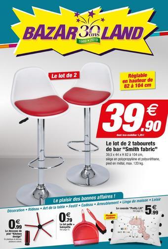 Bazarland catalogue publicitaire (valable jusqu'au 08-09)