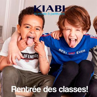 KIABI catalogue publicitaire (valable jusqu'au 14-10)