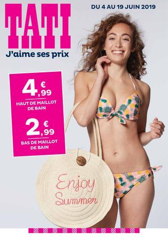 TATI catalogue publicitaire (valable jusqu'au 19-06)
