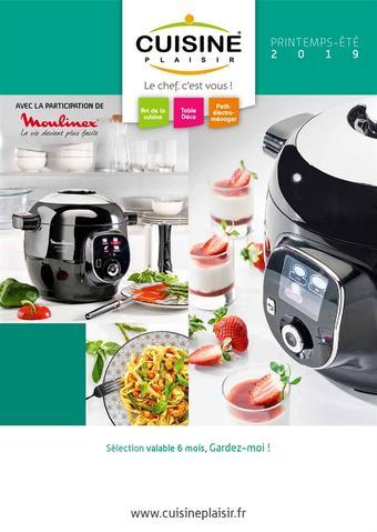 Cuisine Plaisir catalogue publicitaire (valable jusqu'au 30-06)