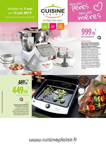 Cuisine Plaisir catalogue publicitaire (valable jusqu'au 16-06)