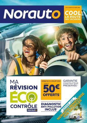 Norauto catalogue publicitaire (valable jusqu'au 27-08)