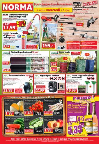 Norma catalogue publicitaire (valable jusqu'au 28-05)