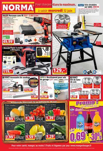 Norma catalogue publicitaire (valable jusqu'au 18-06)