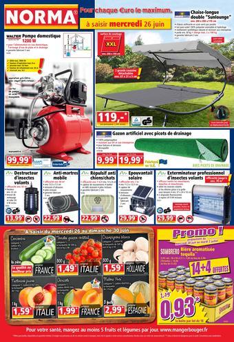 Norma catalogue publicitaire (valable jusqu'au 26-06)