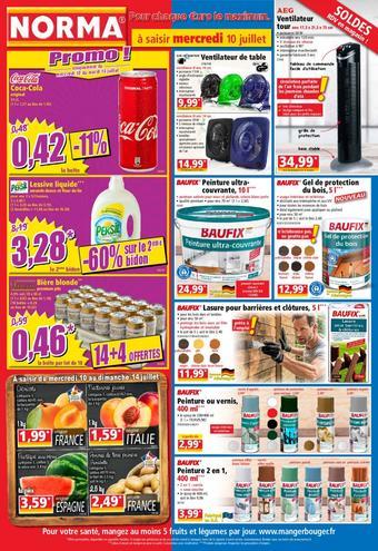 Norma catalogue publicitaire (valable jusqu'au 16-07)