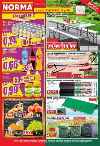 Norma catalogue publicitaire (valable jusqu'au 23-07)