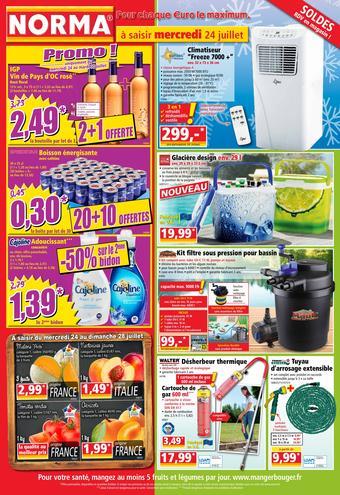 Norma catalogue publicitaire (valable jusqu'au 30-07)