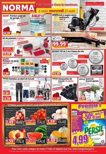 Norma catalogue publicitaire (valable jusqu'au 27-08)
