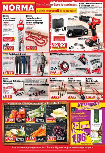 Norma catalogue publicitaire (valable jusqu'au 24-09)