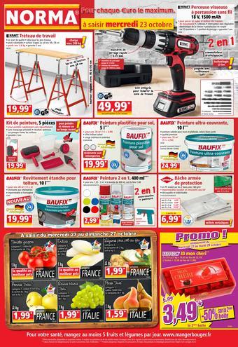 Norma catalogue publicitaire (valable jusqu'au 29-10)