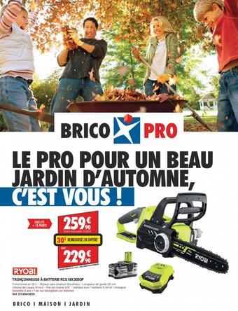 Brico Pro catalogue publicitaire (valable jusqu'au 26-10)