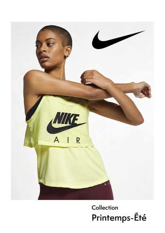 Nike catalogue publicitaire (valable jusqu'au 30-06)