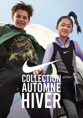 Nike catalogue publicitaire (valable jusqu'au 31-03)
