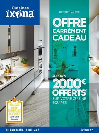Ixina catalogue publicitaire (valable jusqu'au 31-05)